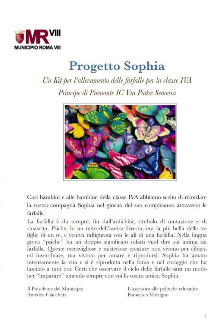 progetto Sophia